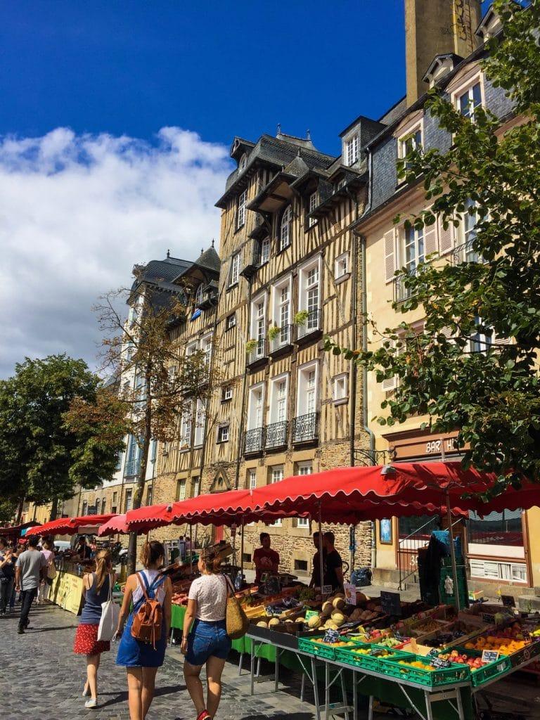 Marché Place des Lices - Rennes