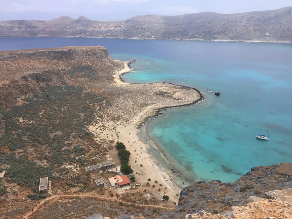 Gramvoussa, Crète