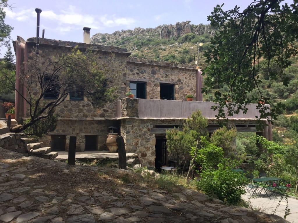 Milia, village écotouristique en Crète