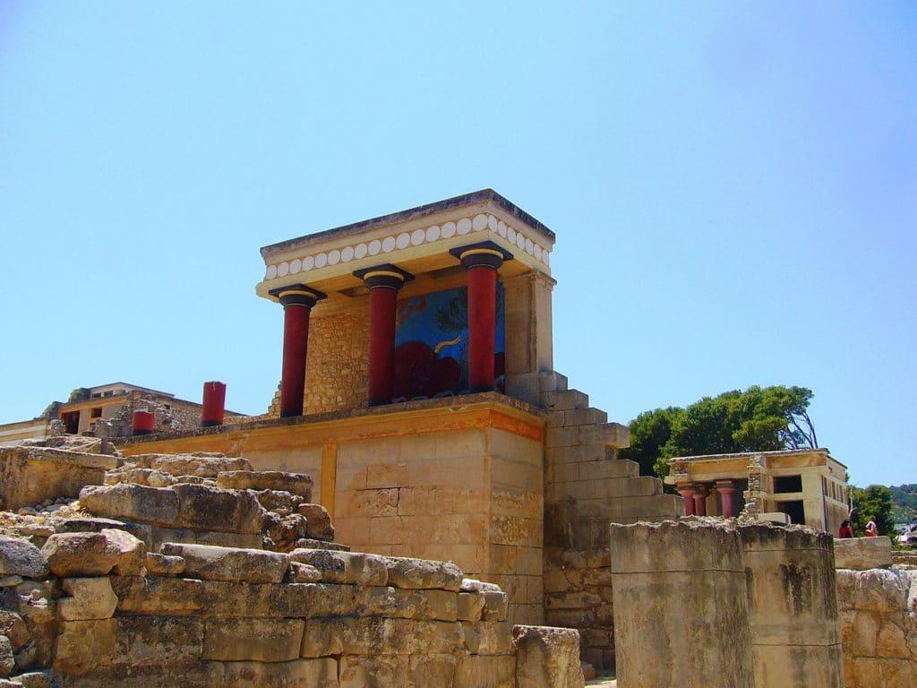 Palais de Cnossos, Crete
