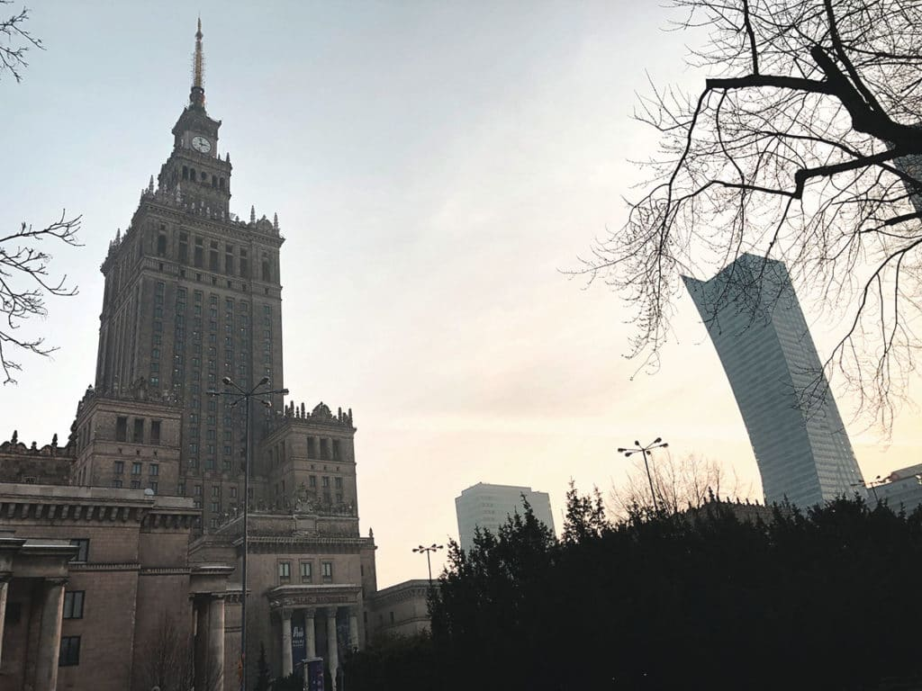Palais de la culture Varsovie