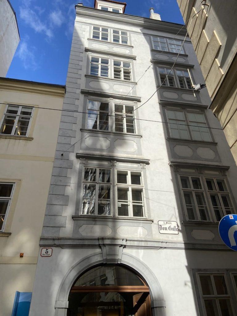 Maison Mozart Vienne extérieur