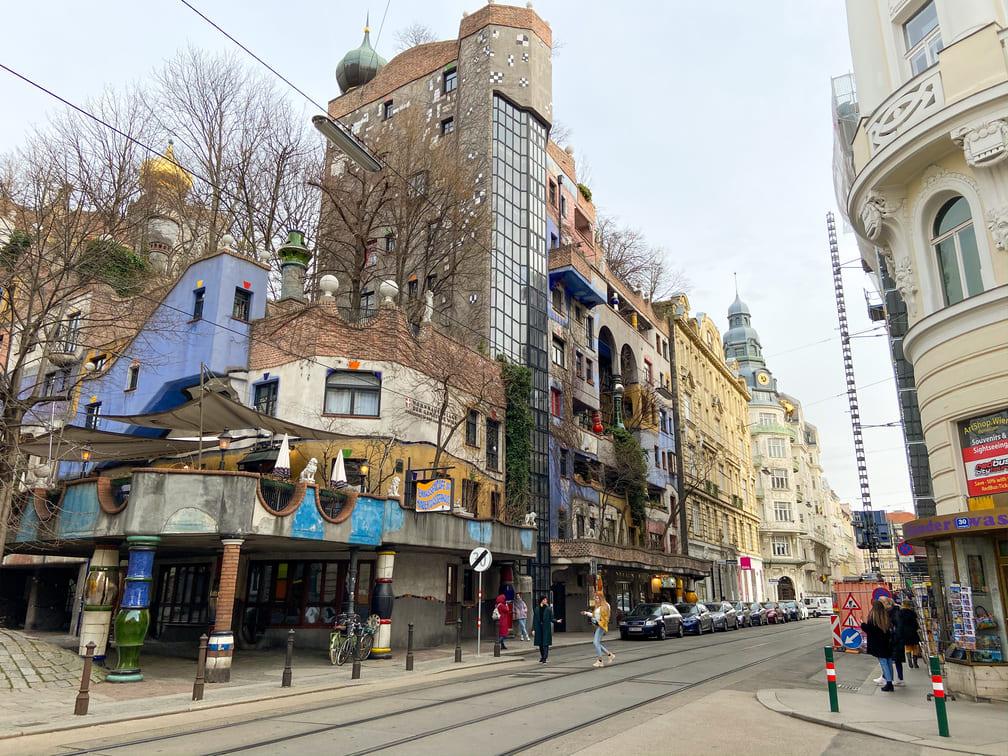 Visiter Vienne 3 jours - Hundertwasserhaus
