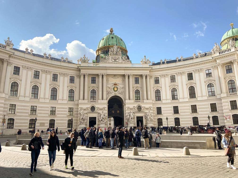 3 jours à Vienne - Palais de Hofburg