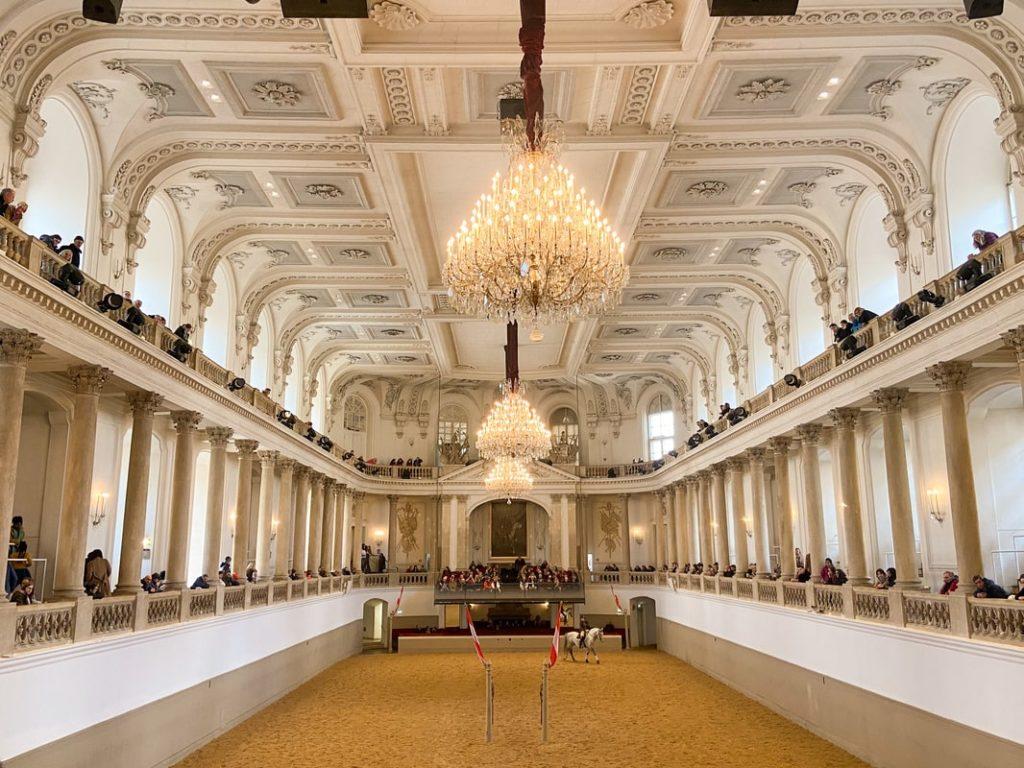 Visiter Vienne en 3 jours - Ecole espagnole d'équitation