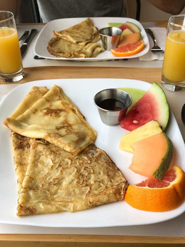 Gite du Haut des Arbres - petit déjeuner